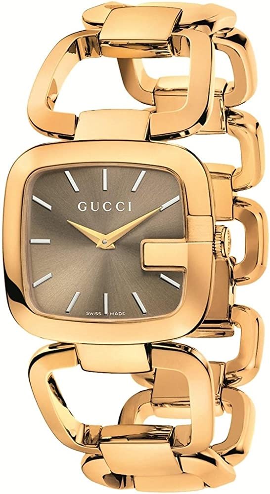 Gucci,orologio per donna,in acciaio inossidabile dorato YA125408
