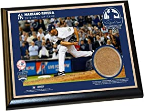 Steiner Sports Mariano Rivera New York Yankees 2019 Hall of Fame Plaque with 2013 Game Used Dirt from Yankee Stadium