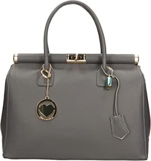 Chicca Borse Bag Borsa a Mano in Pelle Made in Italy 35x28x16 cm