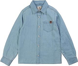 Timberland Camisa Vaquera 100% algodón NIÑO