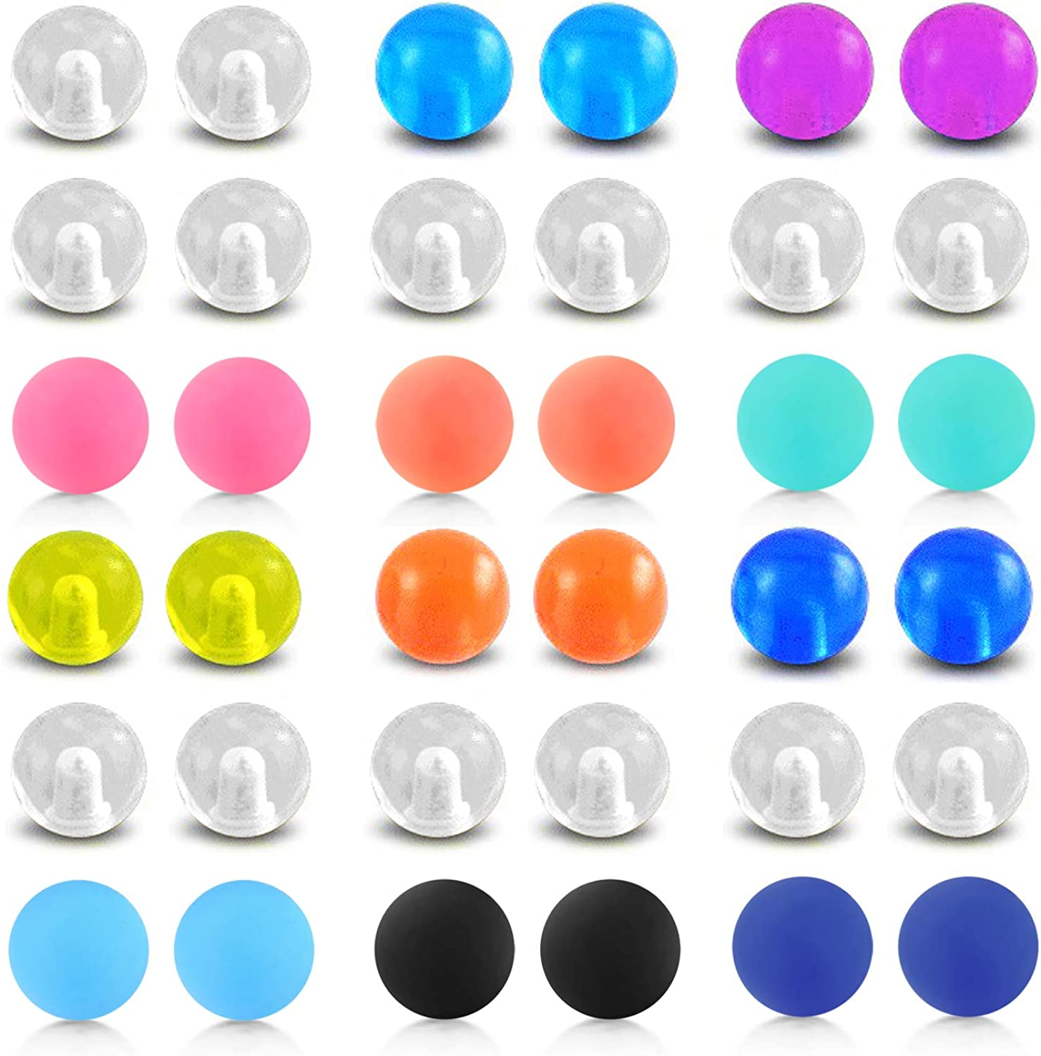 D.Bella 60pcs 316L depot Surgical Steel wholesale Jewelry Body Replacement Balls