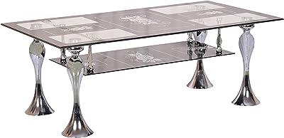 Sapna House Coffee Table (Silver & Grey)
