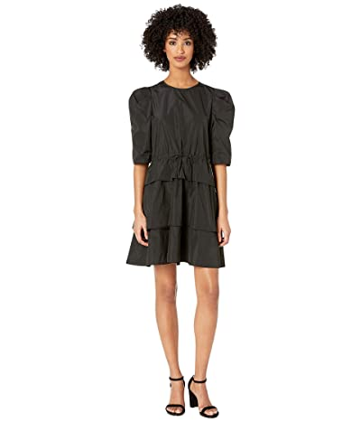 See by Chloe Taffeta Party Dress (Black) Women