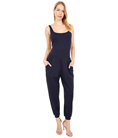 Susana Monaco Tank Pocket Jumpsuit (Midnight) Women