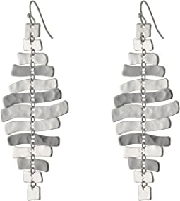 Zigzag Chandelier Earrings