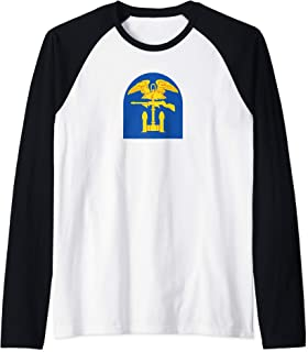 1st Engineer Brigade Raglan Baseball Tee