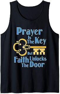 Prayer is the Key Tank Top