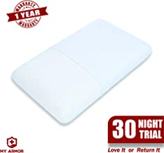 "MY ARMOR Orthopedic Memory Foam Pillow ,Queen Size (23"" x 14"" x 4.5"")"