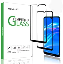 (2-Pack) Beukei for Huawei Y7 2019 / Y7 Pro 2019 Screen Protector Tempered Glass (6.26 inches),Glass with 9H Hardness,with Lifetime Replacement Warranty,for Huawei Y7 Prime (2019)