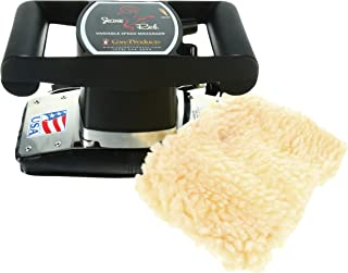 Core Products Jeanie Rub Variable Speed Massager - Fleece Cover Combo