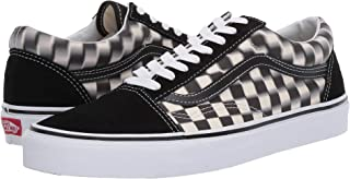 Vans Old Skool (Blur Check) Black/Classic Size 7 M US...