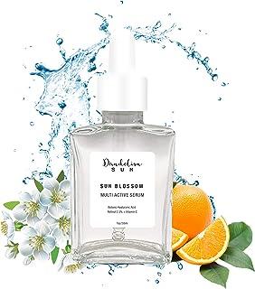 Dandelion Sun Hyaluronic Acid Facial Serum with Vitamin C and Retinol - Hydrating, Brightening, Firming Serum for Anti-Agi...