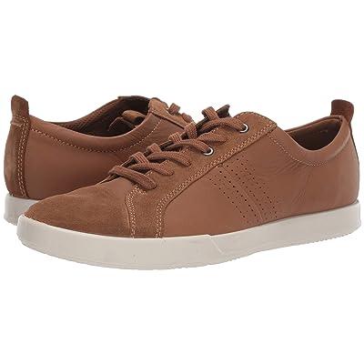 ECCO Collin 2.0 Trend Sneaker (Camel/Camel Calf Suede/Cow Leather) Men