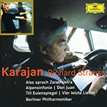 R. Strauss: Also Sprach Zarathustra / Alpine Symphony / Don Juan / Til Eulenspiegel / 4 Last Songs ~ Karajan