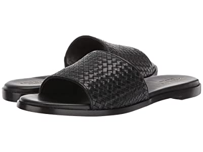Cole Haan Analise Weave Sandal (Black Leather) Women