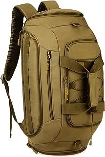 Protector Plus 3-Ways Tactical Military Nylon Men Holdall Weekend Travel Duffel Bag Backpack Messenger Shoulder Bags Convertible Traveling Hiking Rucksack Weekender Overnight Bag Handbag