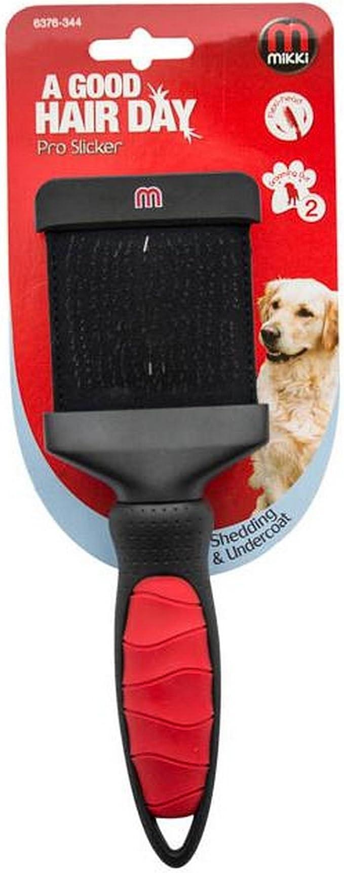 Interpet Limited Mikki Pro Slicker Hunde Bürste