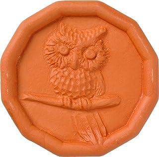 JBK Owl Terra Cotta Brown Sugar Saver