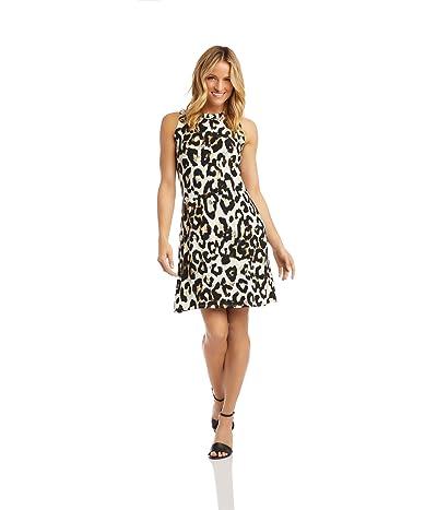 Karen Kane Halter Dress (Cheetah) Women