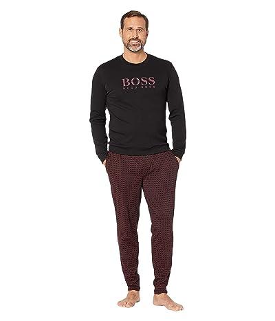 BOSS Hugo Boss Relax Long Set in Gift Box (Black/Burgundy) Men