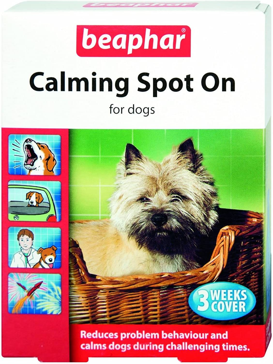 (10 Pack) Beaphar  Calming Dog Spot On
