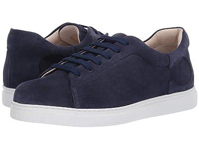 Canali Tennis Sneaker (Blue Suede) Men