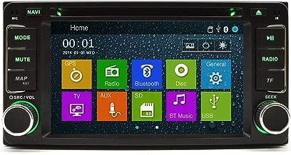 OTTONAVI Toyota FJ Cruiser 2007-2011 In Dash Double Din Touch Screen GPS iPod DVD Navigation Radio
