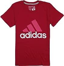 adidas Big Girls Adi Logo Short Sleeve Tee