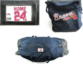 Evan Gattis Game Used Atlanta Braves Home Equipment Bag