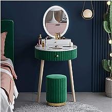 Makeup Desk with Drawers for Bedroom Nordic Dressing Table Bedroom Modern Minimalist Storage Cabinet Bedroom Christmas WAN...