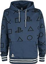 Playstation Icons Männer Kapuzenpullover blau Fan-Merch, Gaming