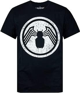 Marvel Venom Distressed Logo Men's T-Shirt