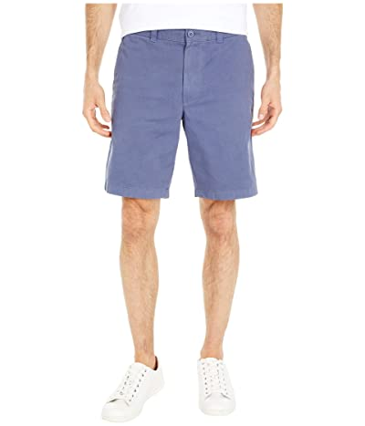 J.Crew 9 Garment-Dyed Chino Shorts (Evening Shadow) Men