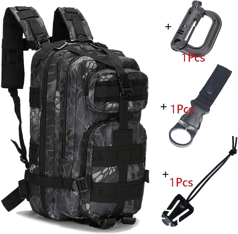 Backpack Waterproof Rucksacks Outdoor Sports Camping Hiking Trekking Fishing Bags 1000D Nylon
