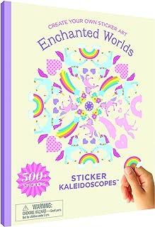 Mrs. Grossman's Enchanted Worlds Sticker Art Activity Book, Multi