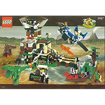 LEGO Adventurers Dino Island 5987 Dino Research Compound