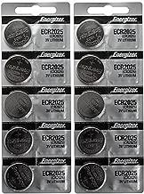 10 CR2025 Energizer Lithium Batteries (2 packs of 5)