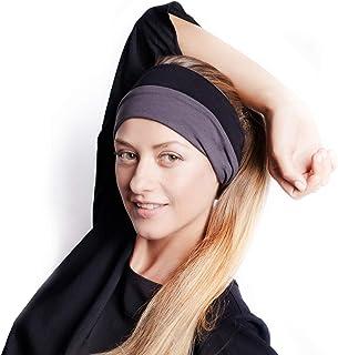 7fcf1c1a536 BLOM Original Multi Style Headband. for Women Yoga Fashion Workout Running  Athletic Travel. Wear