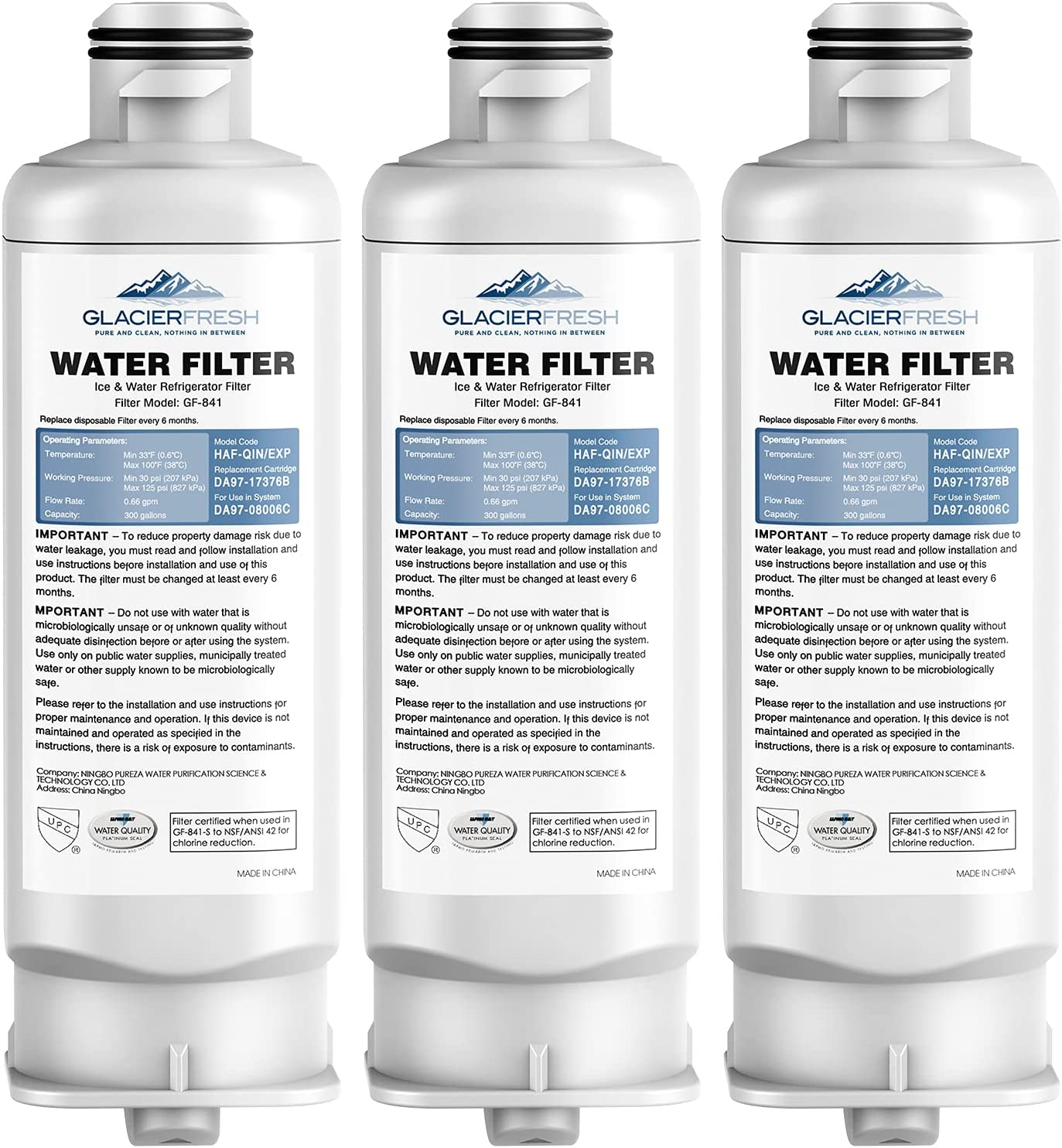 It is very popular GLACIER FRESH DA97-17376B Free Shipping New HAF-QIN Water Replacement for Filter S