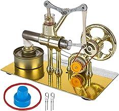 DXX Motor Stirling Kit Baja Temperatura Aire Caliente DIY Eléctrico Generador Motor Stirling Engine Juguete Educativo