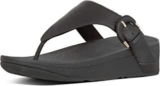 FitFlop Womens X63 Lottie Buckle Toe-Thongs