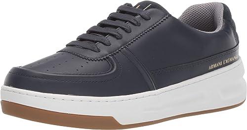 armani exchange sneaker scarpe da ginnastica basse uomo lace up xux049xv196