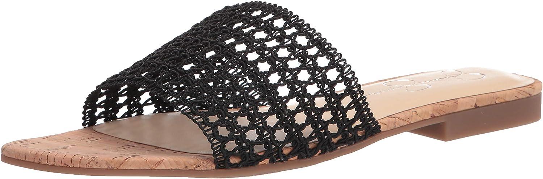 Jessica Simpson チープ ハイクオリティ Women's Rilane Sandal Slide Flat
