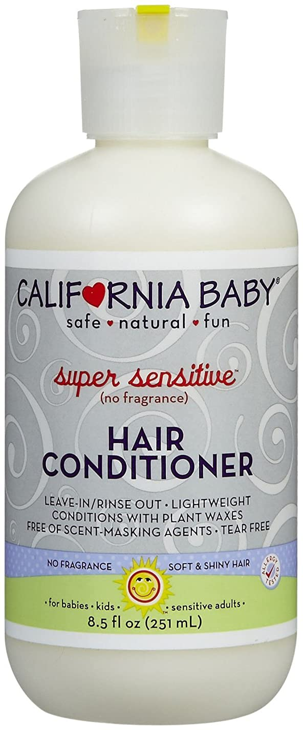 ビーチ箱合法California Baby hair Conditioner - Super Sensitive, 8.5 Ounce by California Baby