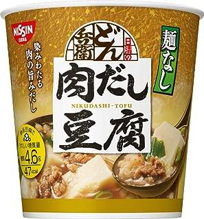 日清麺なしどん兵衛肉だし豆腐スープ12g×6個