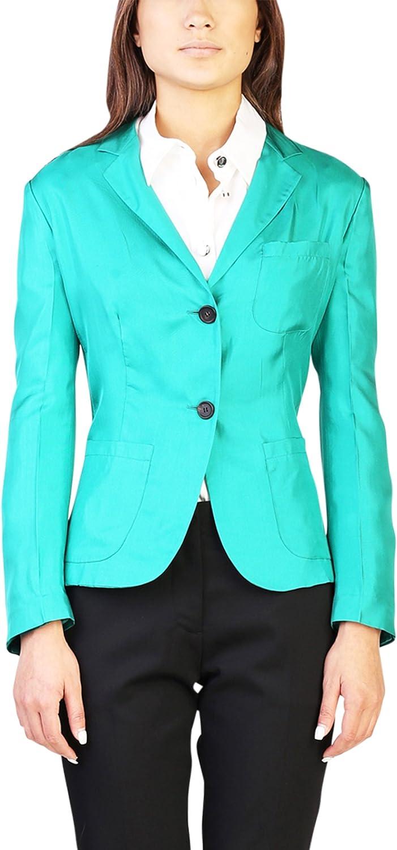 Prada Women's Silk Shimmering Jacket Green