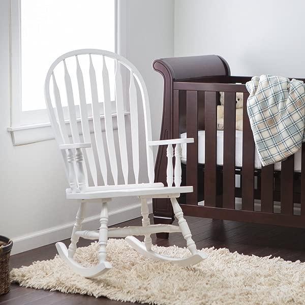 Windsor Baby Nursery Rocking Chair White