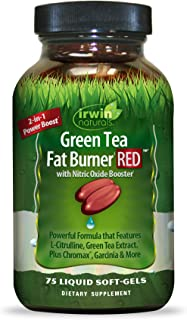 Green Tea Fat Burner Red, 0.27 Pound