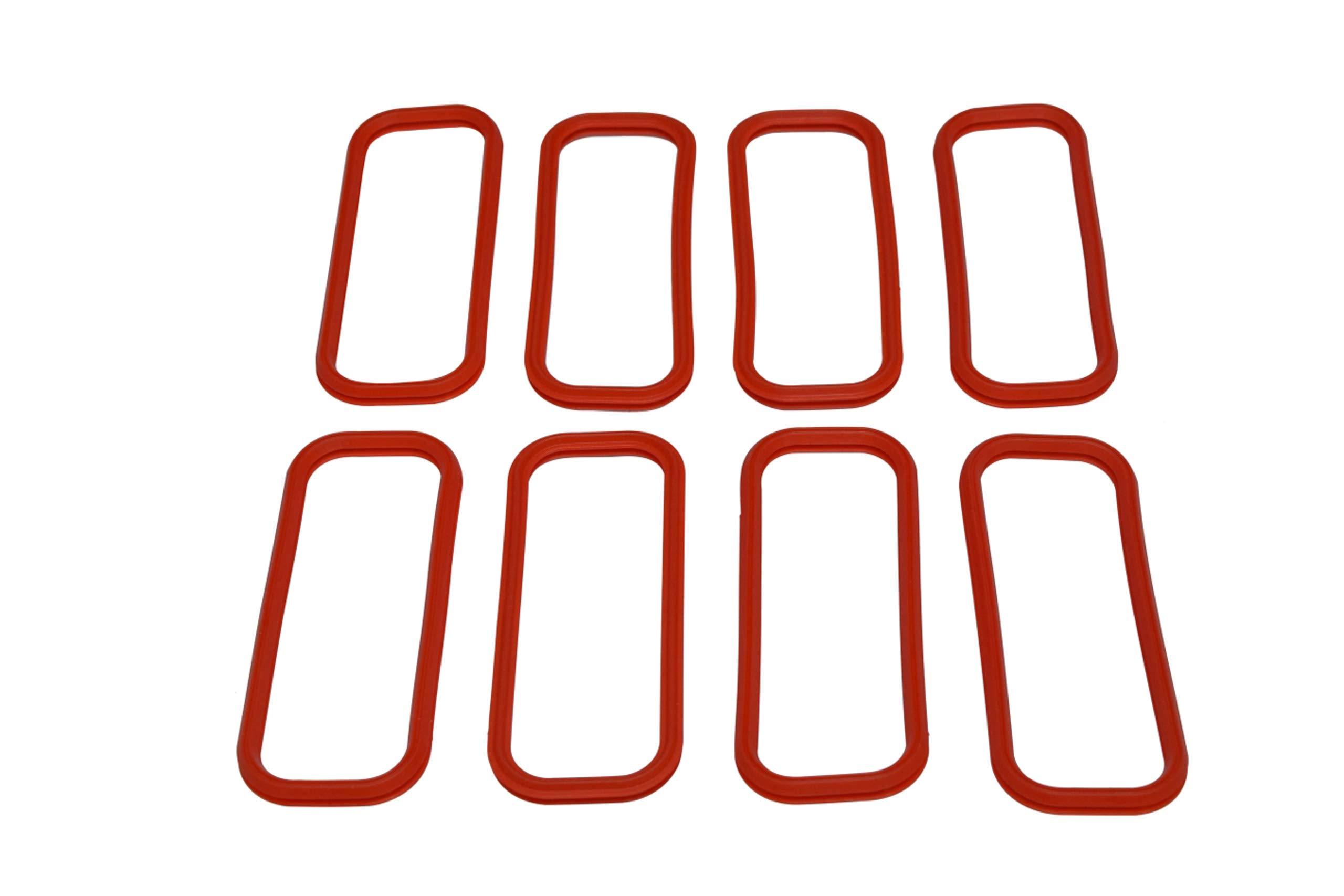 LS Intake Manifold Lower Seal O-Ring Gasket Set Fit for LS1 LS6 Fast LSX Camaro Corvette GTO Intake Manifold Gasket Set