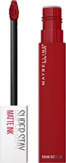 Maybelline SuperStay Matte Ink Liquid Lipstick, Long-lasting Matte Finish Liquid Lip Makeup, Highly Pigmented Color, Exhil...